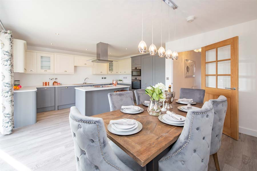 blaby home kitchen and dining room alternative view