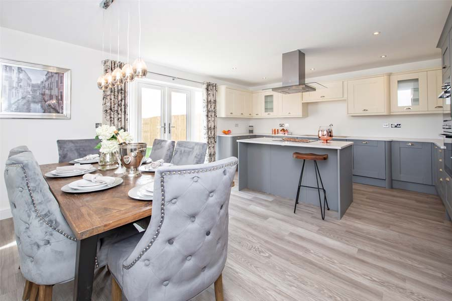blaby home kitchen and dining room