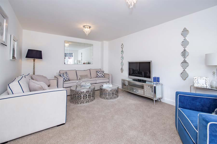 blaby home living room