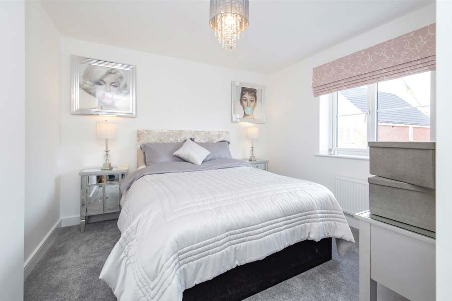 blaby home master bedroom