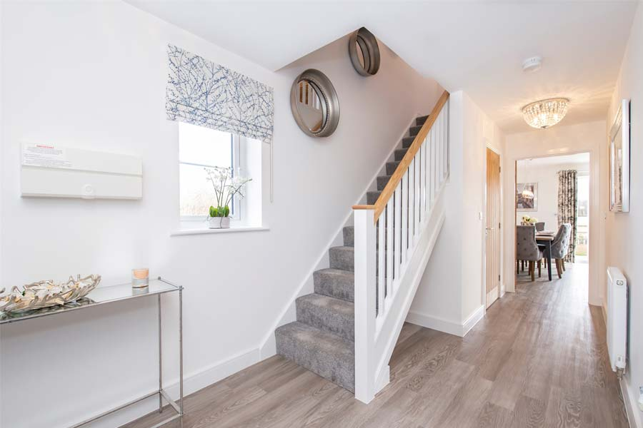 blaby home staircase hallway