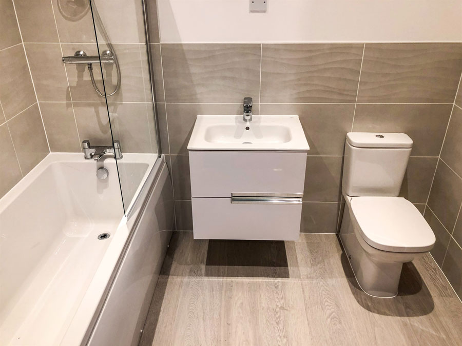 Final Blaby house bathroom