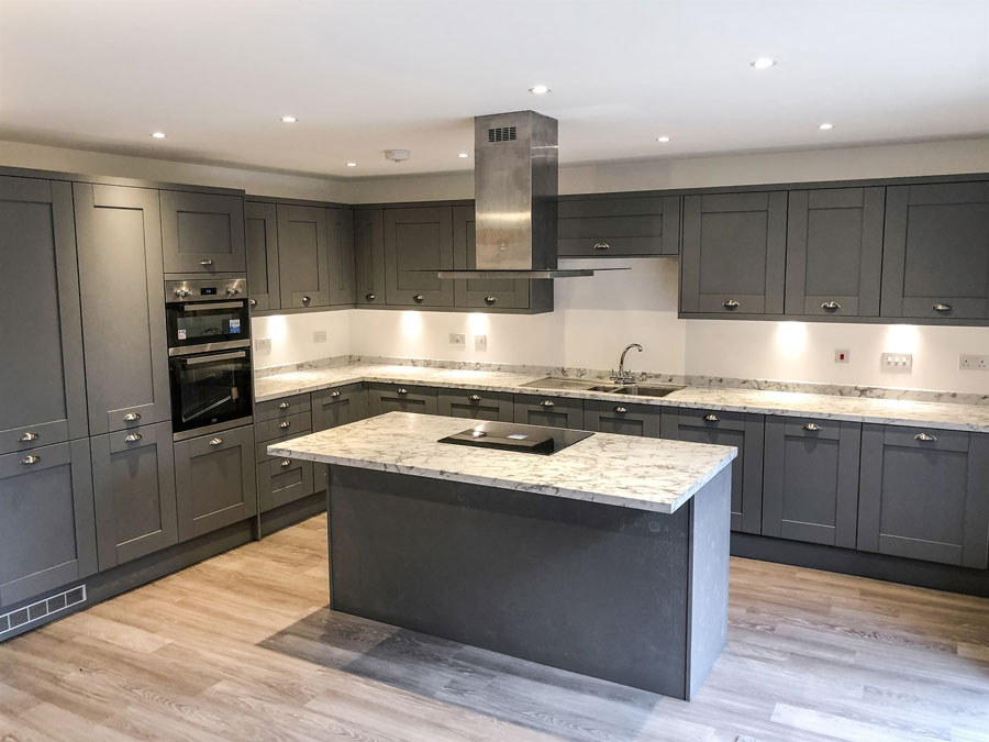 Final Blaby house kitchen
