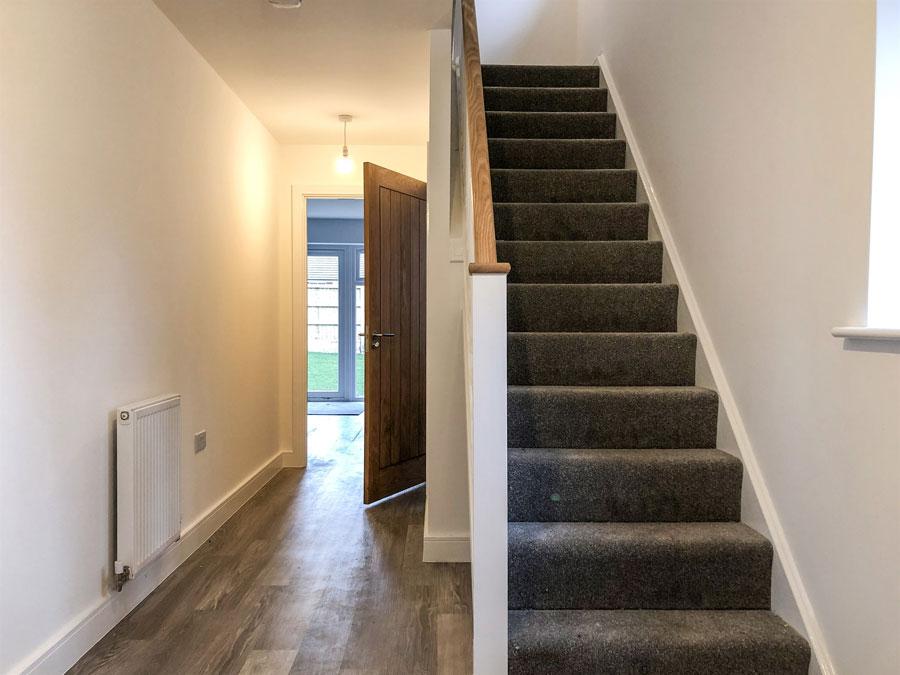 Final Blaby house hallway