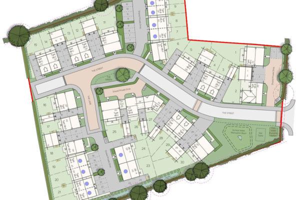 Husbands Bosworth site plan