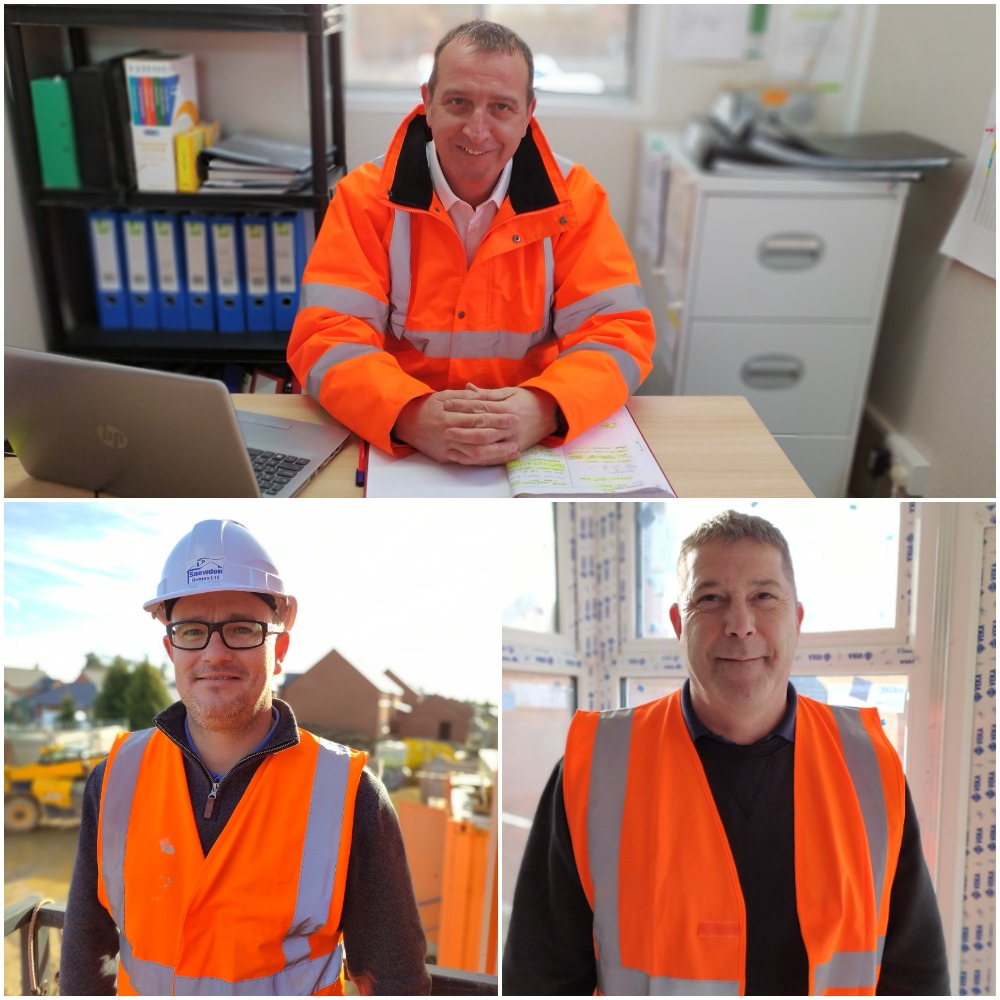 New Snowdon Homes site managers
