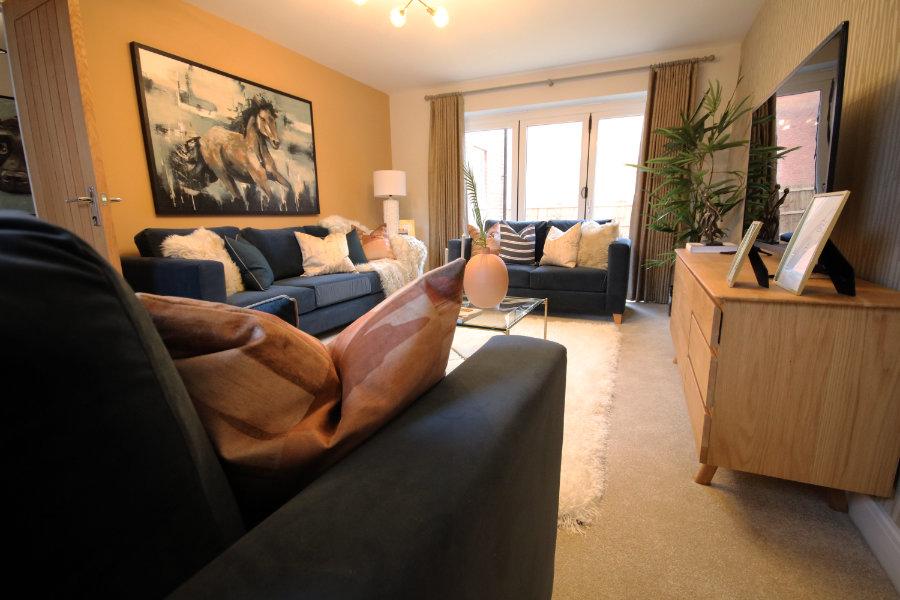 Bosworth Grange living room